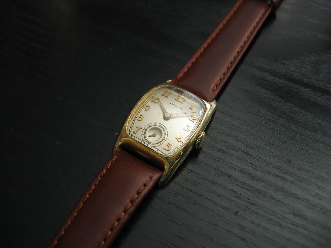 Ces vieilles montres qui ne valent rien... Hamiboulton