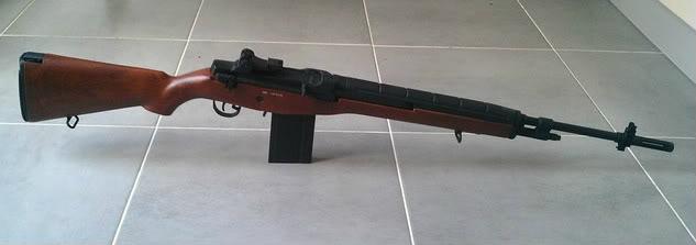 M14 Long Asg (cyma) Imitation Bois: Comme Neuf Ac5ce8e3