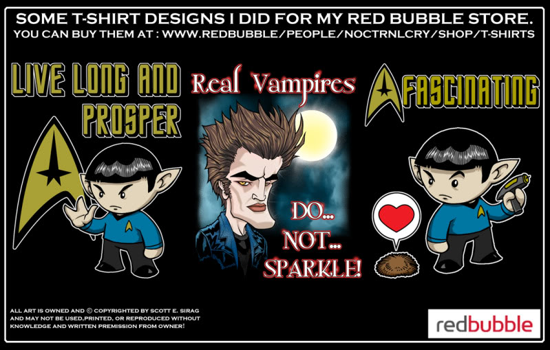 MORE T-SHIRT STUFF FROM NOCTRNLCRY! Take a look!!! Redbubbleboards5