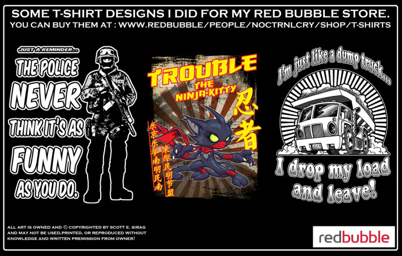 MORE T-SHIRT STUFF FROM NOCTRNLCRY! Take a look!!! Redbubbleboards8