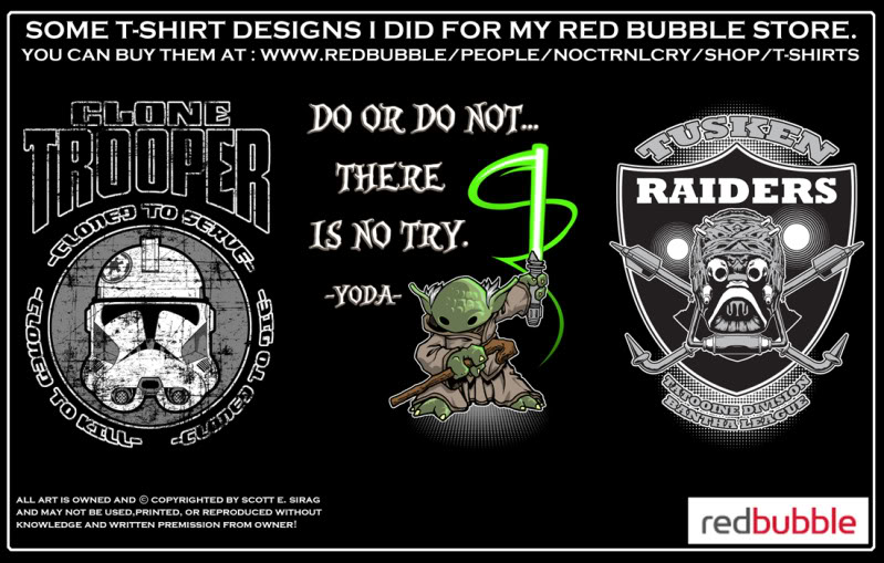 MORE T-SHIRT STUFF FROM NOCTRNLCRY! Take a look!!! Redbubbleboards9