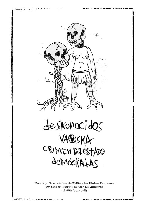 el topic del crust, d-beat y el anarcho-punk Deskonocidosweb-1