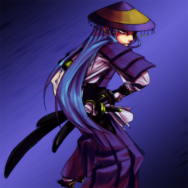 The Three Swords Blademaster