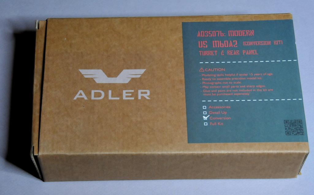 *Peinture en cours* M60A2 1/35 conversion Adler sur base Esci/AFV Club WAS_6893