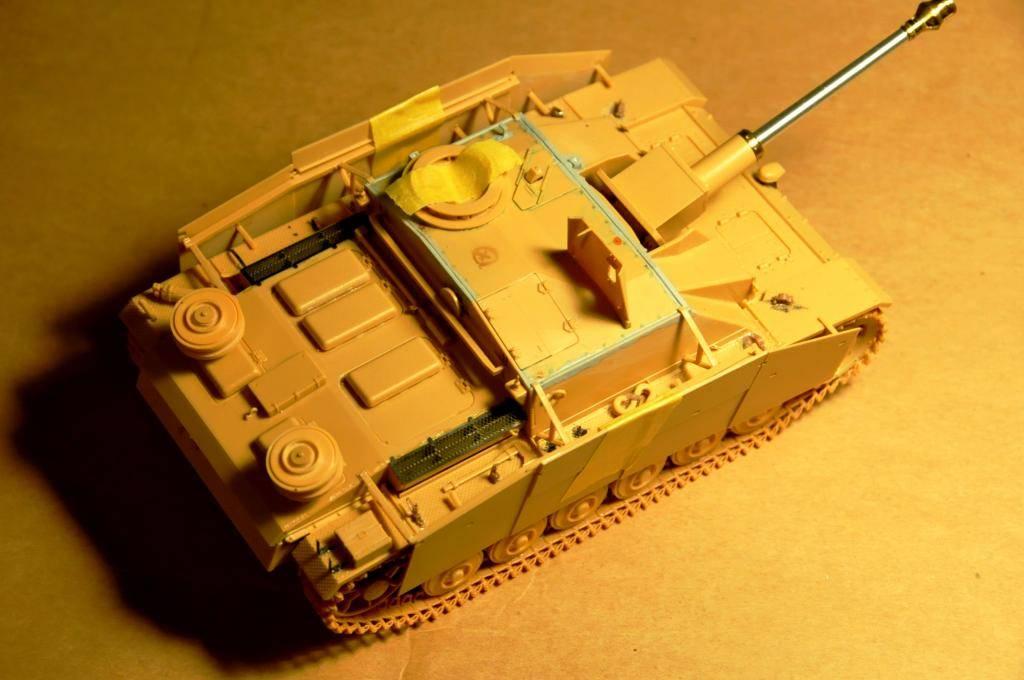 *Terminé!* StuG III Ausf G avec roues métalliques (base Tamiya 1/35). WAS_5933