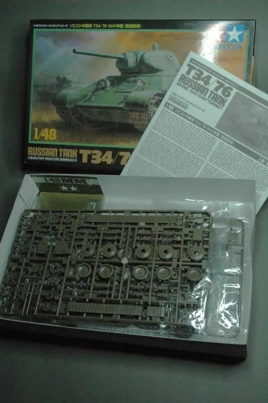 T34 Tamiya au 1/48. T34_2-1