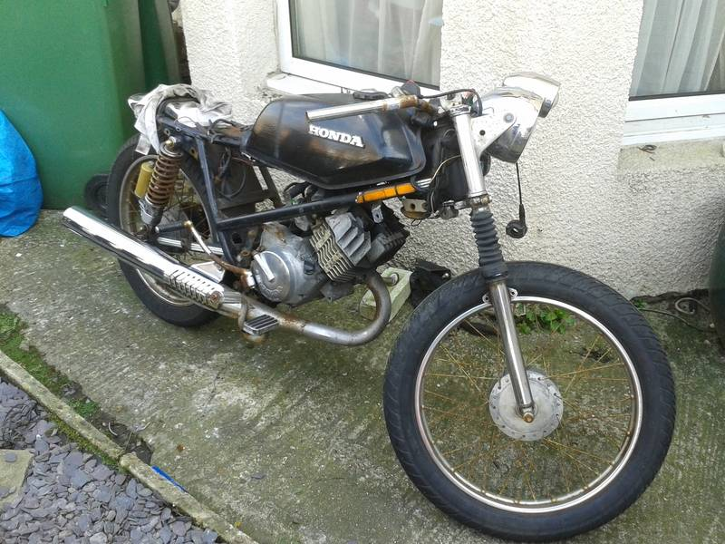 Honda h100A 1980, Some history and build pictures. 20150323_104252_zpsoheob0ho