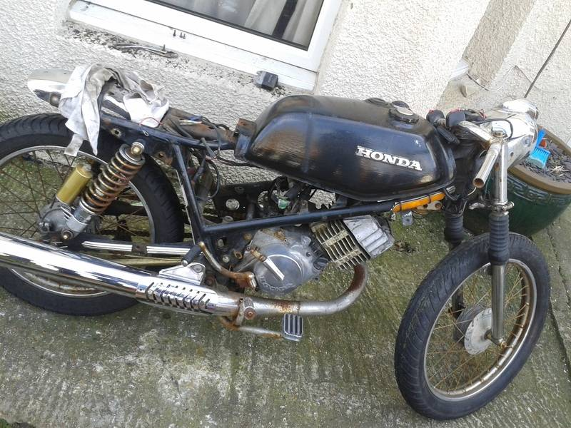 Honda h100A 1980, Some history and build pictures. 20150323_104311_zps5pwn7pxz