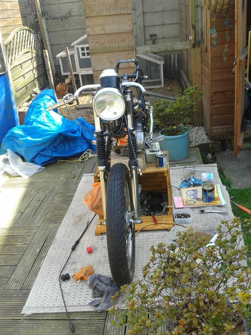 Honda h100A 1980, Some history and build pictures. 20150420_125535_zpsjc8j4wao
