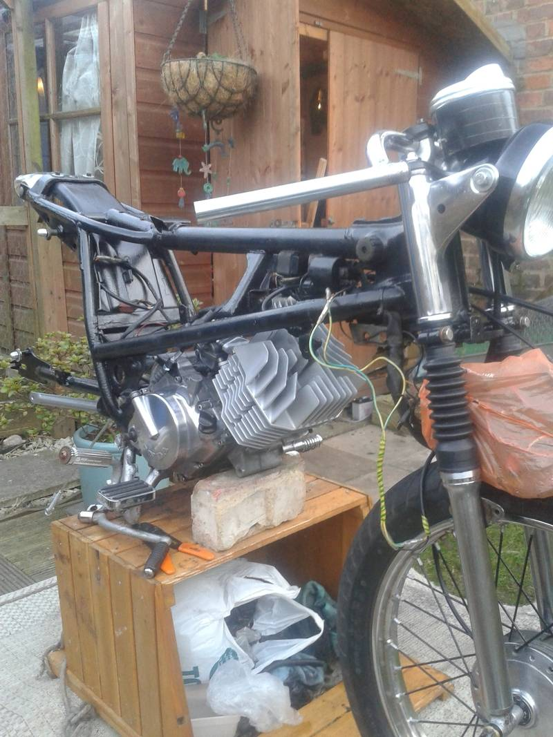 Honda h100A 1980, Some history and build pictures. 20150421_195222_zpsqkuegq2g