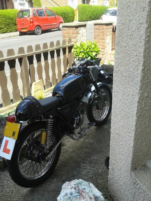 Honda h100A 1980, Some history and build pictures. Bike2_zpska5tunlz