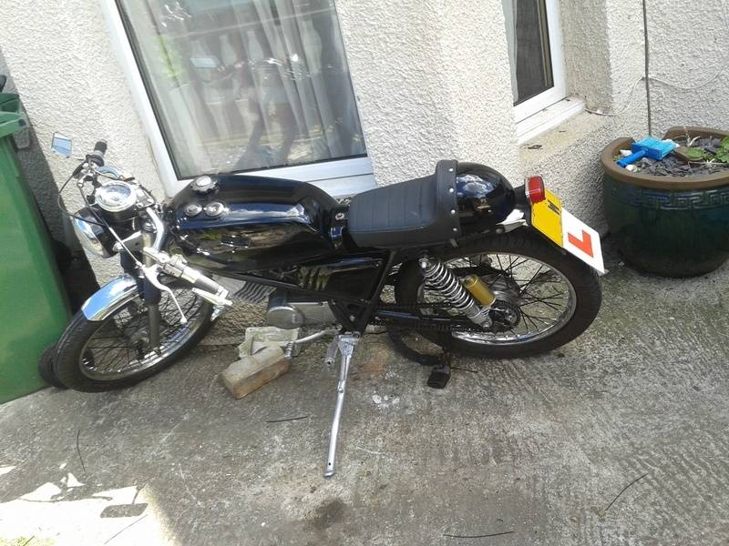 Honda h100A 1980, Some history and build pictures. Bike_zps6j2tfdxp
