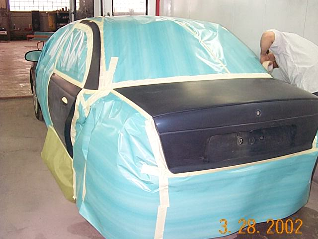 Một quy trình sơn ôtô để tham khảo DCP05919