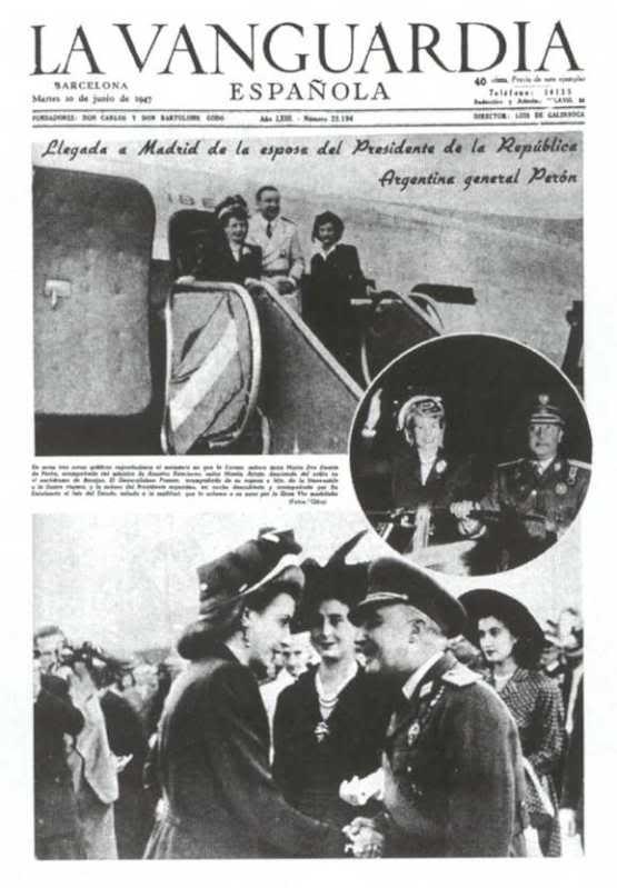 Discusión: Eva Perón - Página 3 EvitaPeron-VisitaaEspaa-