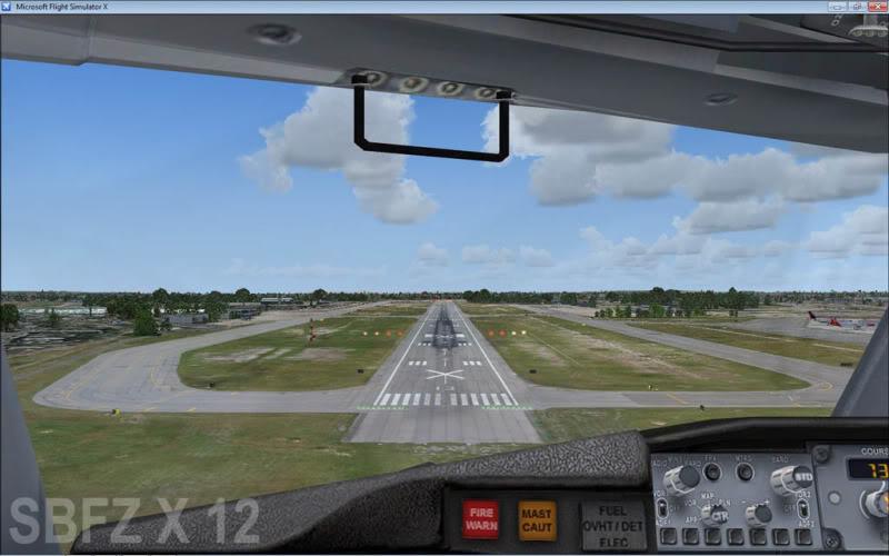 cenários de aeroportos Sbfz11