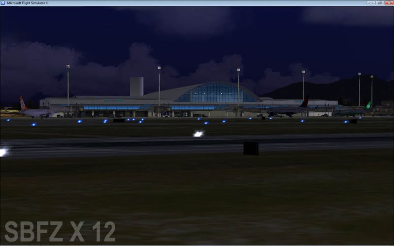 cenários de aeroportos Sbfz15