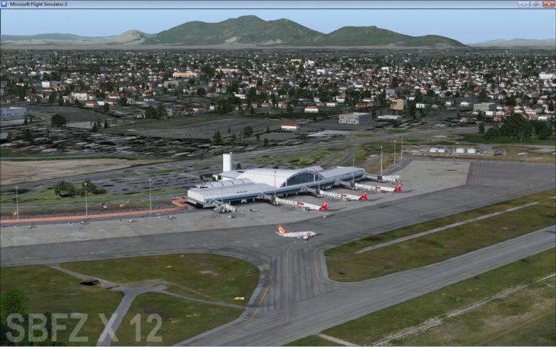 cenários de aeroportos Sbfz2