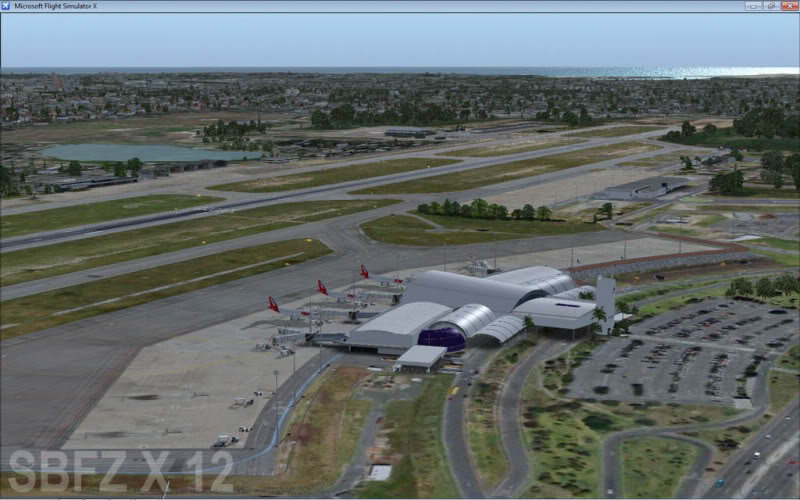 cenários de aeroportos Sbfz3