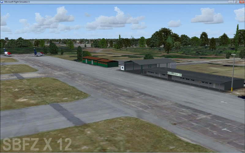 cenários de aeroportos Sbfz7