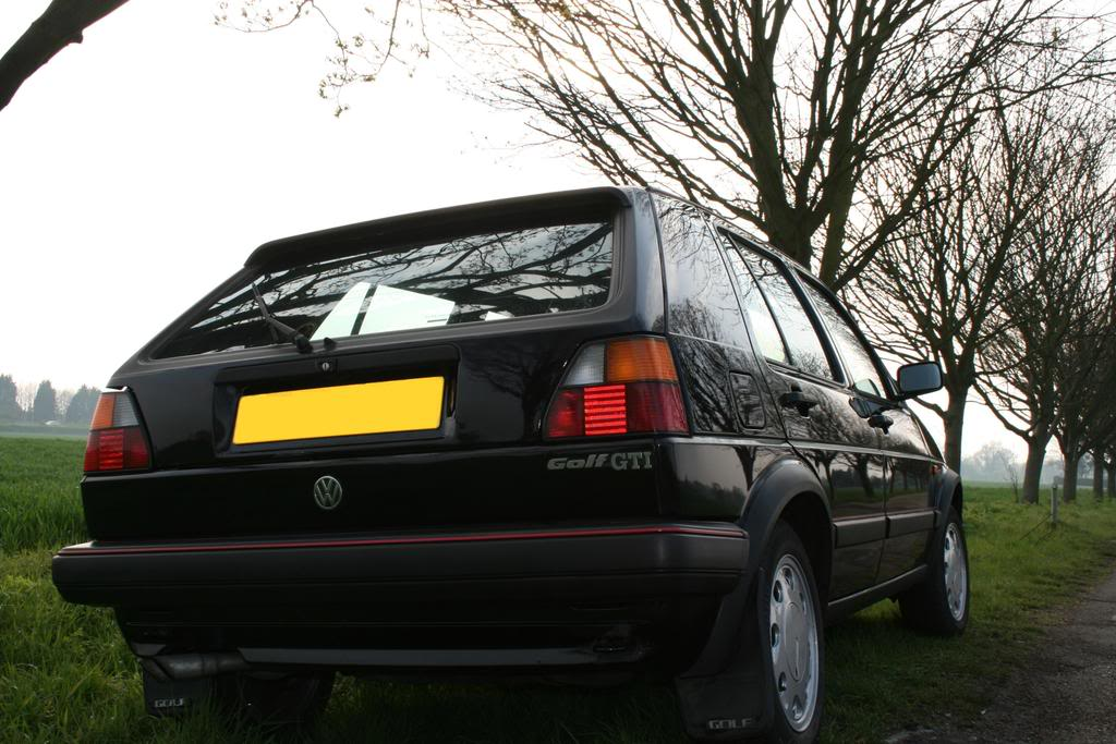 1988 Mk2 8V Gti run about *With updated crash photos :(* Modded