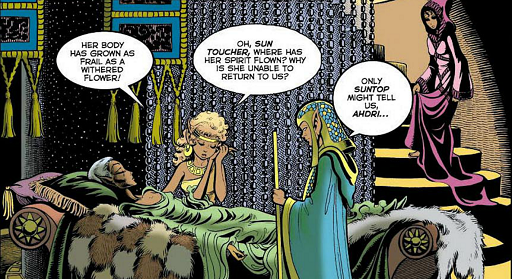 REFERENCE : MAGIC IN ELFQUEST INFO_GoingOutComesWithDeadlyRisks