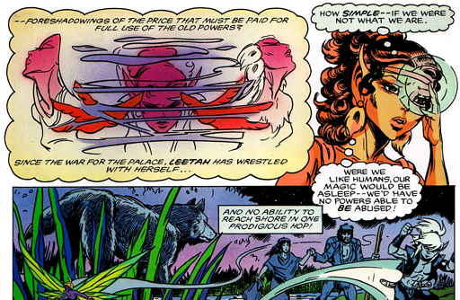 REFERENCE : MAGIC IN ELFQUEST INFO_MagicAsleepInHumans