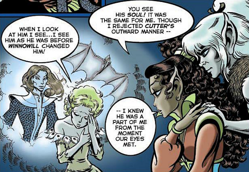 REFERENCE : MAGIC IN ELFQUEST INFO_RecognitionRevealsTheSoul