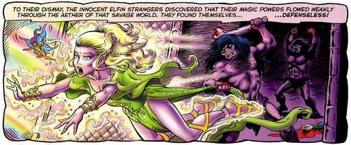 REFERENCE : MAGIC IN ELFQUEST P01_Gliding_HighOne