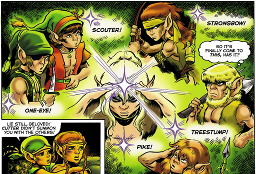 REFERENCE : MAGIC IN ELFQUEST P03_Sending_GroupSend