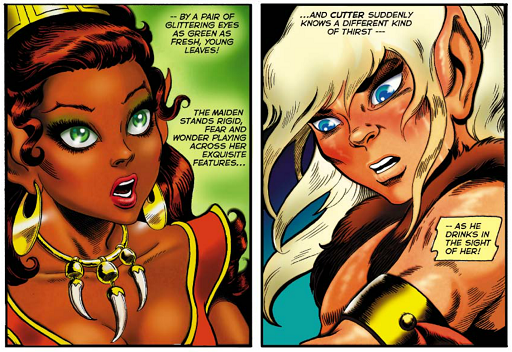 REFERENCE : MAGIC IN ELFQUEST P06_Recognition