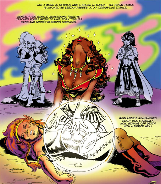 REFERENCE : MAGIC IN ELFQUEST P09_Healing