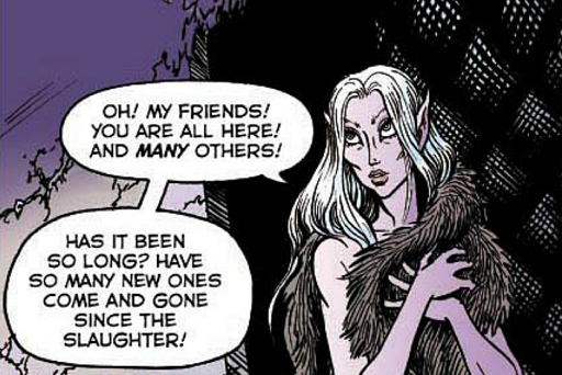 REFERENCE : MAGIC IN ELFQUEST P101_SpiritFeeling_HighOne