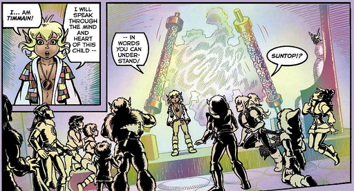REFERENCE : MAGIC IN ELFQUEST P103_104_105_MindLinking_VisualEffects_CocoonsThinkDo