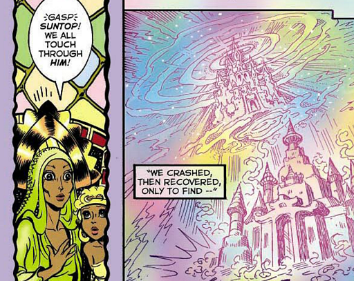 REFERENCE : MAGIC IN ELFQUEST P108_MentalLink_FromAfar