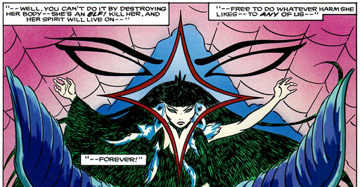 REFERENCE : MAGIC IN ELFQUEST P109_WinnowillCaseSeenAsEternalDanger