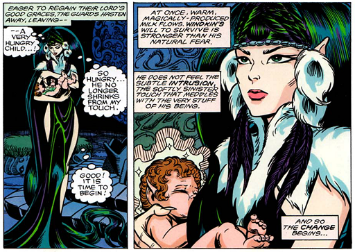 REFERENCE : MAGIC IN ELFQUEST P117_GeneticChange