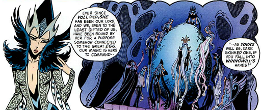 REFERENCE : MAGIC IN ELFQUEST P118_ConcentratingMagicIntoItem