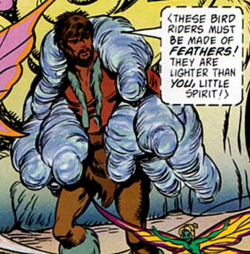 REFERENCE : MAGIC IN ELFQUEST P120_Gliding_ProbablyEvenInCocoons