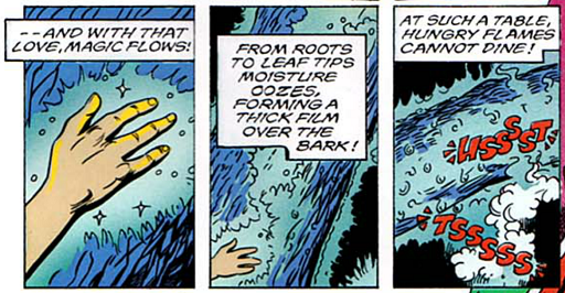 REFERENCE : MAGIC IN ELFQUEST P127_TreeShaping_AntiFireEffect