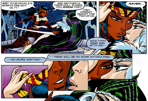 REFERENCE : MAGIC IN ELFQUEST P130_EffectOfWillOnGroupMagic_Focus