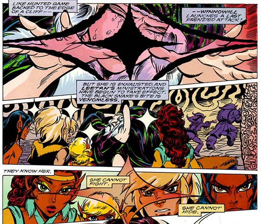 REFERENCE : MAGIC IN ELFQUEST P136_GroupMagicVersusOne