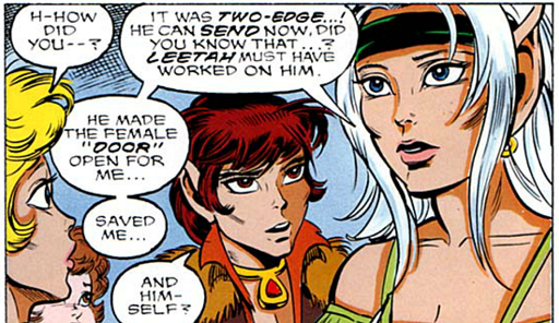 REFERENCE : MAGIC IN ELFQUEST P138_MentalHealing_WakingPowersUp