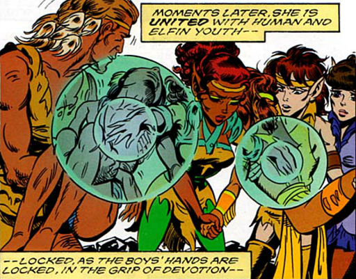 REFERENCE : MAGIC IN ELFQUEST P139_Healing_BOTHElfAndHumanAtTheSameTime