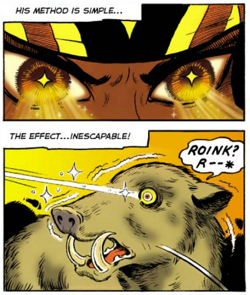 REFERENCE : MAGIC IN ELFQUEST P13_HypnoticTrance_OnAnimal