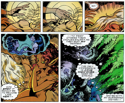 REFERENCE : MAGIC IN ELFQUEST P142_TheOnlyDifferenceIsLove_ProbableKeyForMagic
