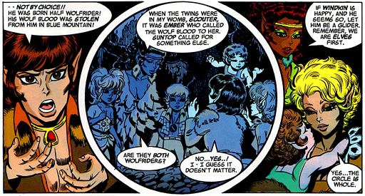 REFERENCE : MAGIC IN ELFQUEST P143_StrangeGeneticEffects