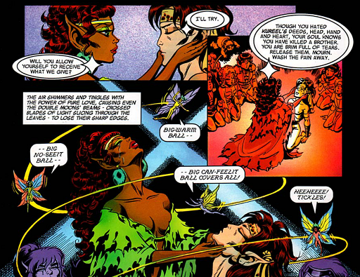 REFERENCE : MAGIC IN ELFQUEST P144_MentalHealing_MagicFeeling_ByPreservers