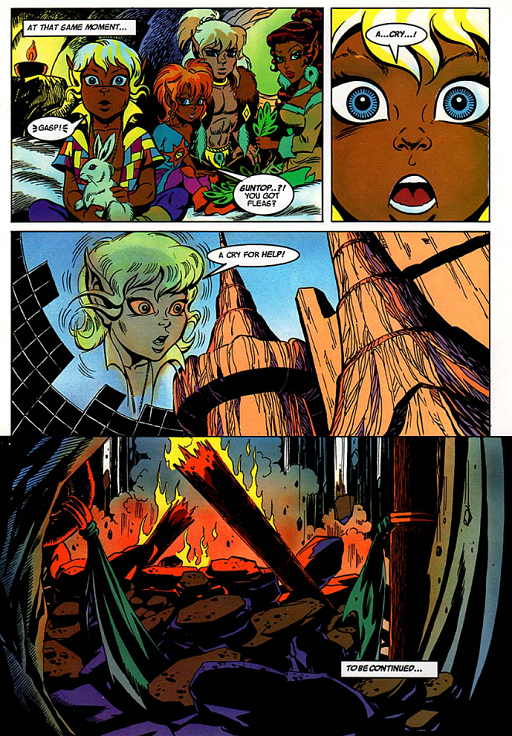 REFERENCE : MAGIC IN ELFQUEST P149_MentalLinkPlusSpecificEventTriggersMore