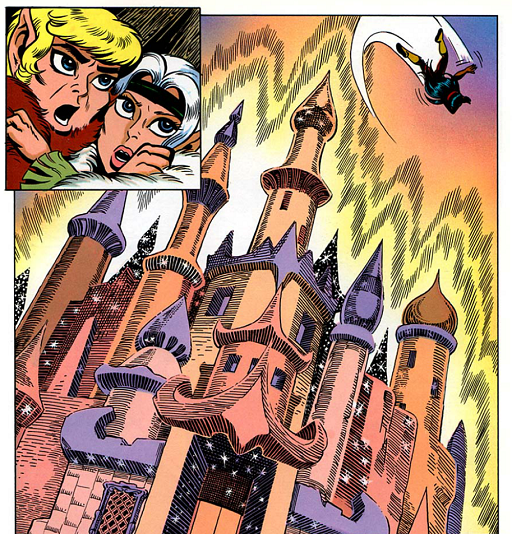 REFERENCE : MAGIC IN ELFQUEST P152_FreeingSpiritsToThePalaceRestoredIt_GroupMagic