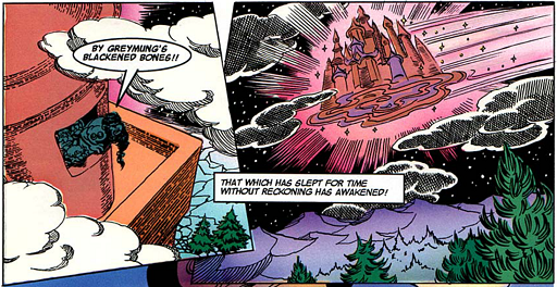 REFERENCE : MAGIC IN ELFQUEST P155_Flying_PalacePower